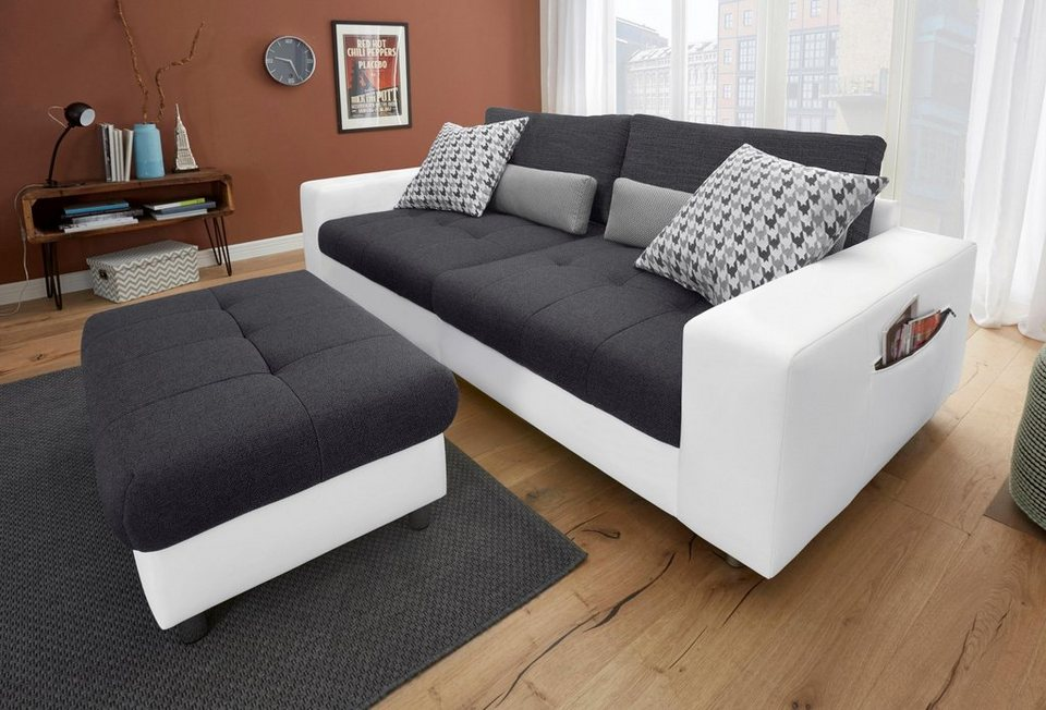 big sofa in 2 bezugsqualit ten online kaufen otto. Black Bedroom Furniture Sets. Home Design Ideas