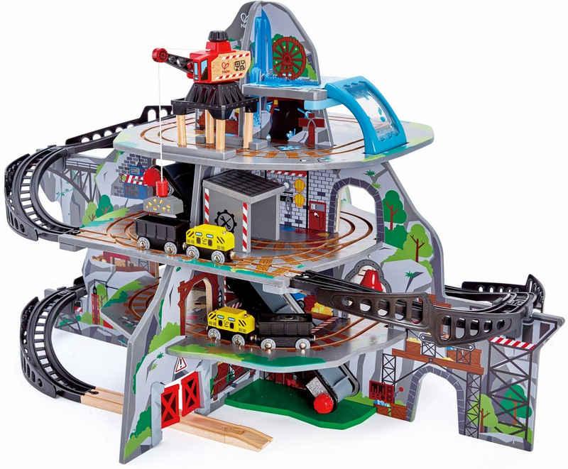 Hape Spielzeug-Eisenbahn »Riesige Bergmine, 32-tlg.«, (Set, 32-tlg)
