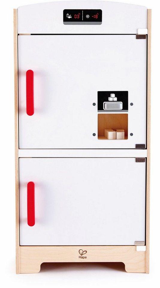 hape kinder k chenger t aus holz k hlschrank mit gefrierfach wei online kaufen otto. Black Bedroom Furniture Sets. Home Design Ideas