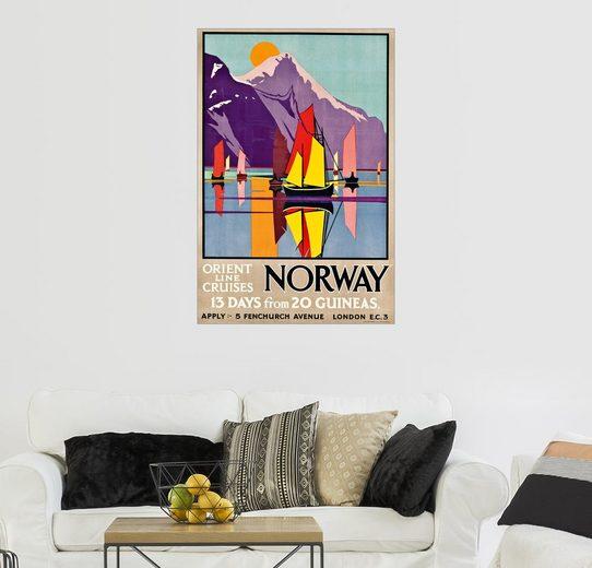 Posterlounge Wandbild - M.V. Jones »Orient Line Cruises Norwegen«