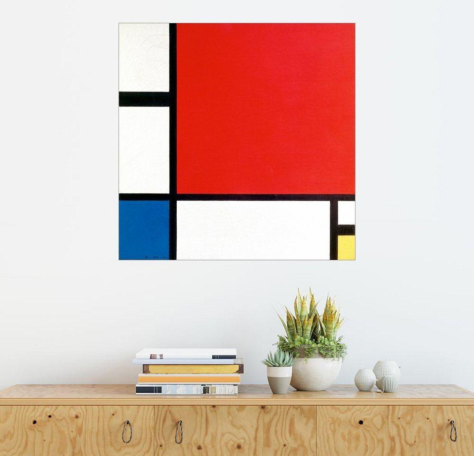 Piet Mondrian »Komposition Mit Rot