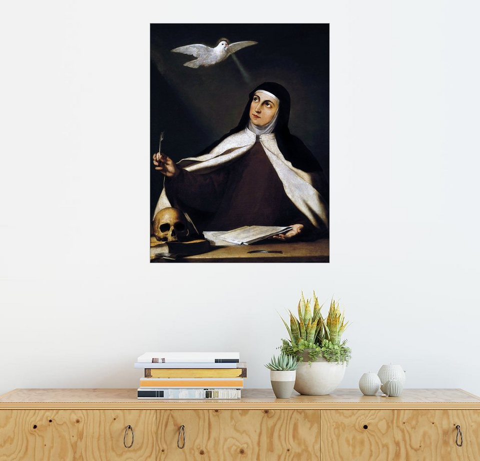 posterlounge wandbild jusepe de ribera teresa von jesus online kaufen otto. Black Bedroom Furniture Sets. Home Design Ideas