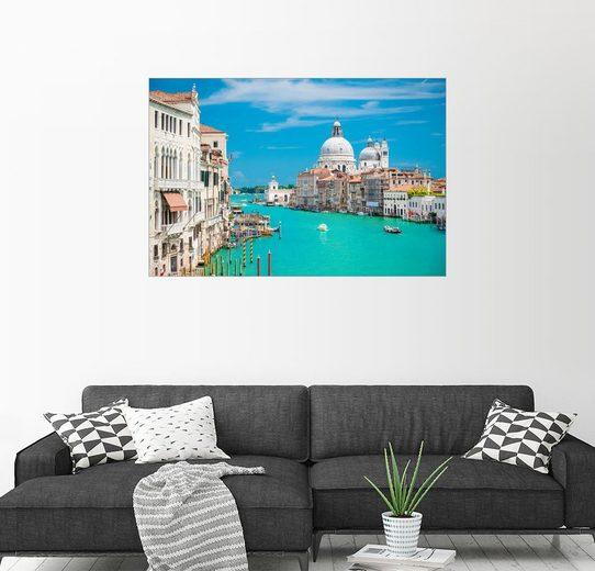 Posterlounge Wandbild - euregiophoto »Canal Grande Venezia«