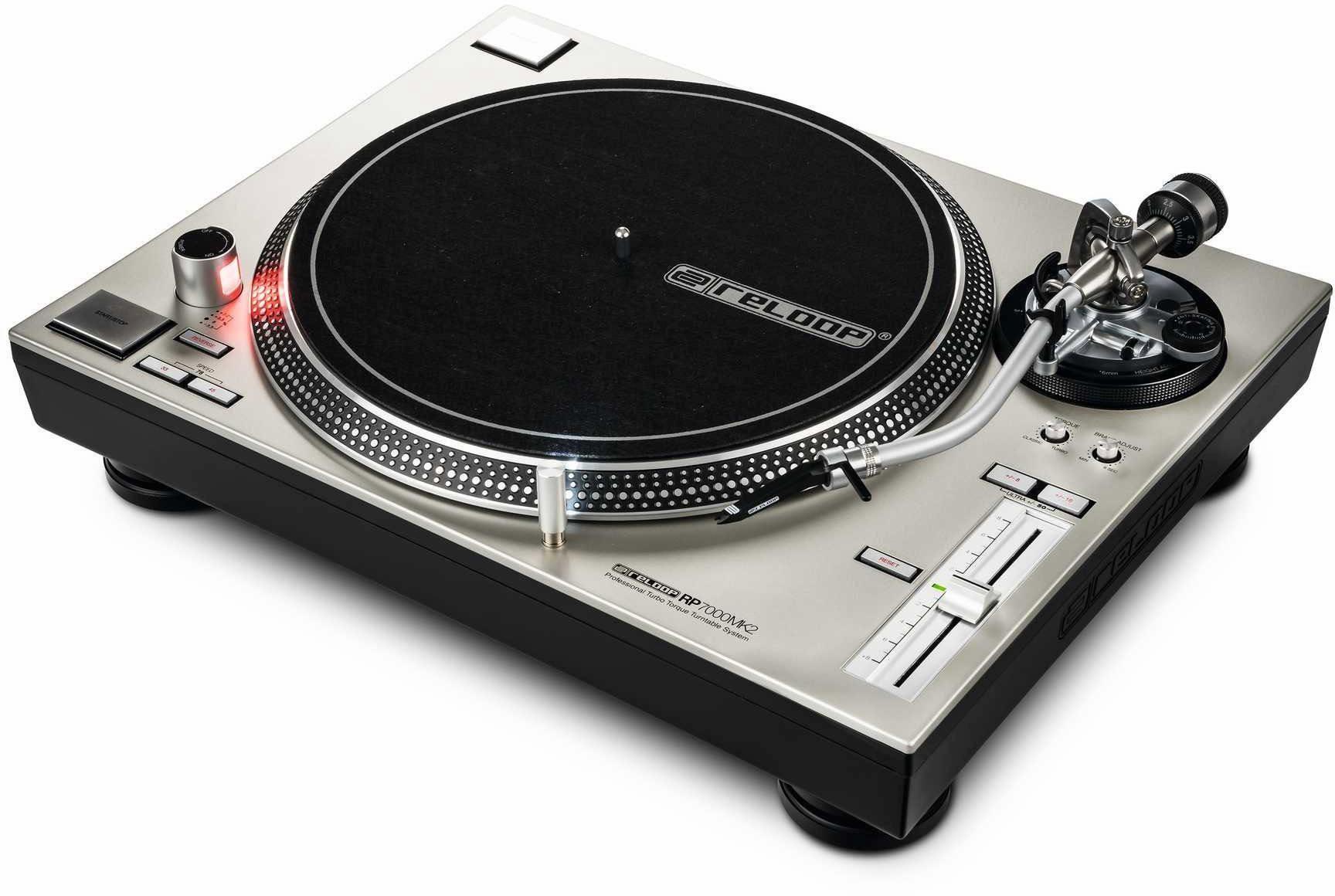 Reloop DJ Plattenspieler, »RP - 7000 MK2 silver«