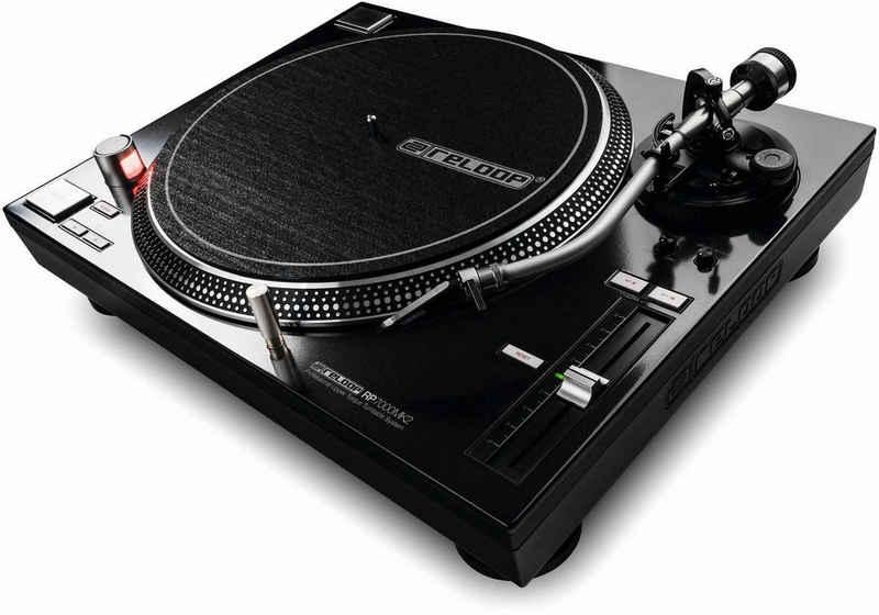 Reloop® »RP - 7000 MK2 black« Plattenspieler (Direktantrieb)
