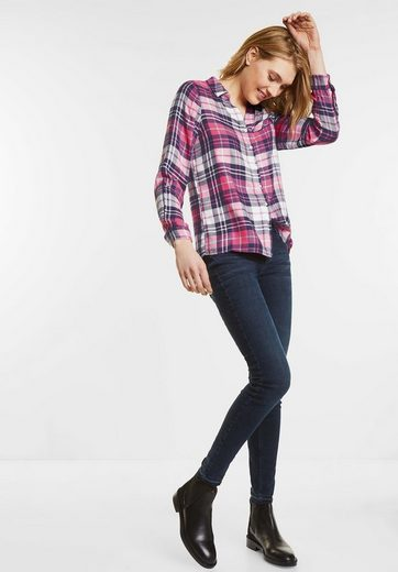 Street One Karierte Checkblouse