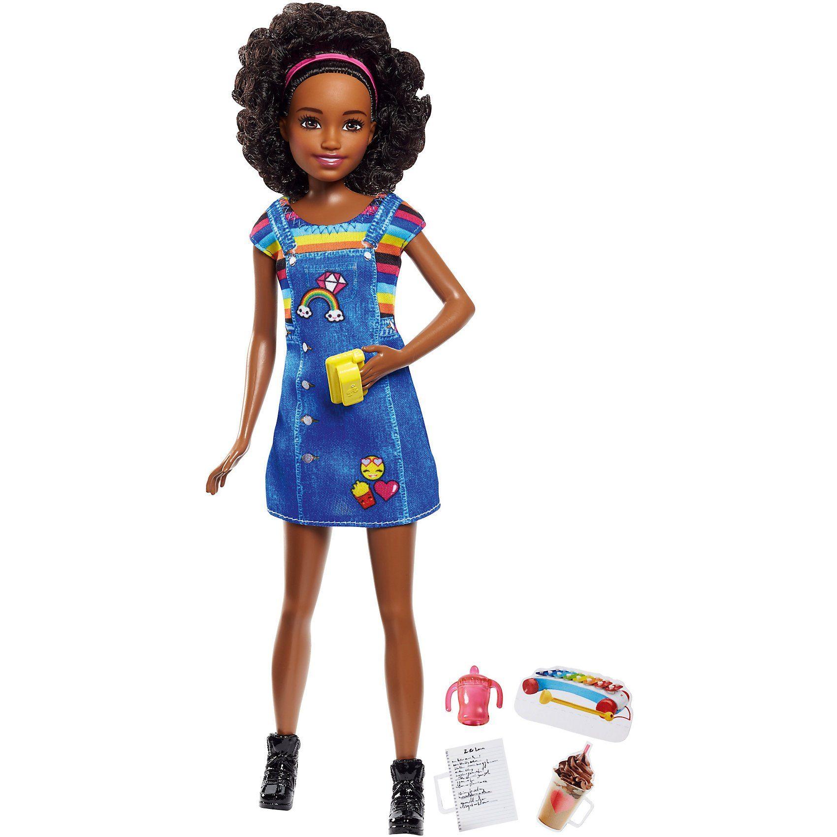 "Mattel Barbie ""Skipper Babysitters Inc."" Puppe + Kaffee"