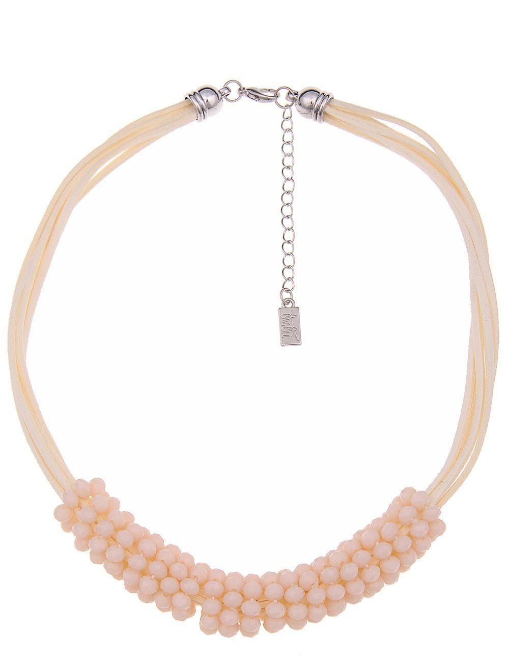 Leslii Halskette mit Glasperlen