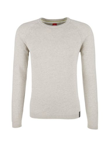 s.Oliver RED LABEL Raglan-Pullover aus Slub Yarn