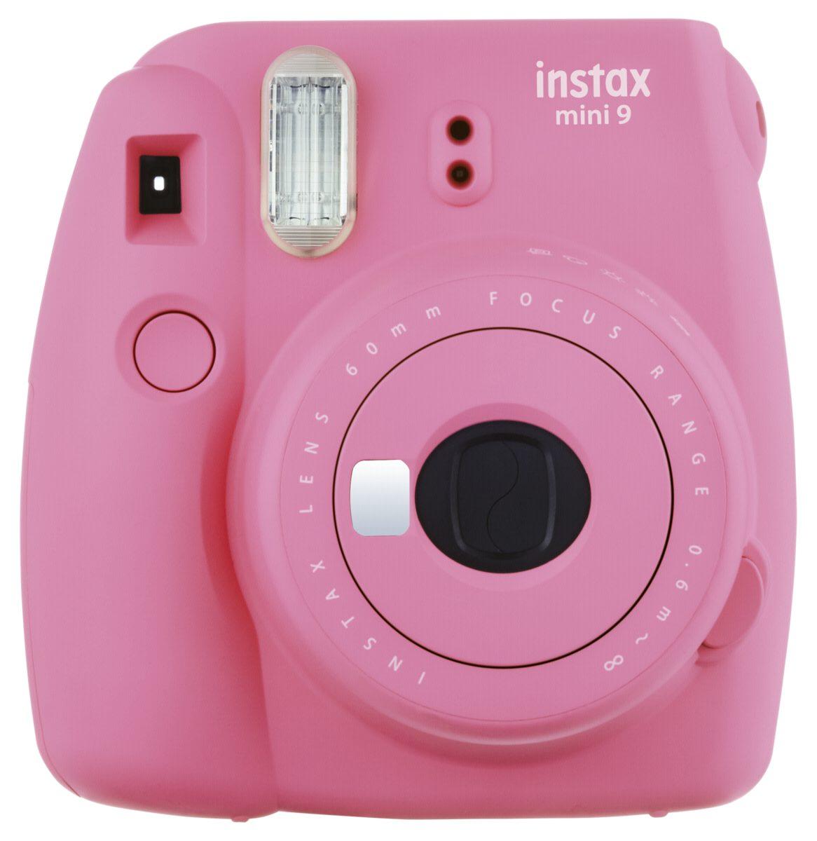 Fujifilm Sofortbildkamera »instax mini 9 set inkl. Film flamingo«