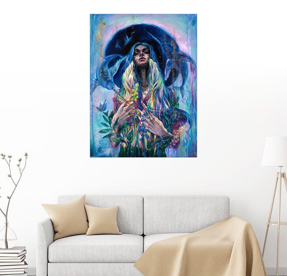 Posterlounge Wandbild - Tanya Shatseva »Das Rascheln von Narwal Flügeln«
