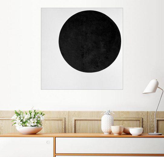 Posterlounge Wandbild - Kasimir Sewerinowitsch Malewitsch »Schwarzer Kreis«