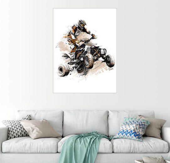 Posterlounge Wandbild - tom »Quad«