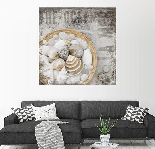 Posterlounge Wandbild - Andrea Haase »Strandschätze«