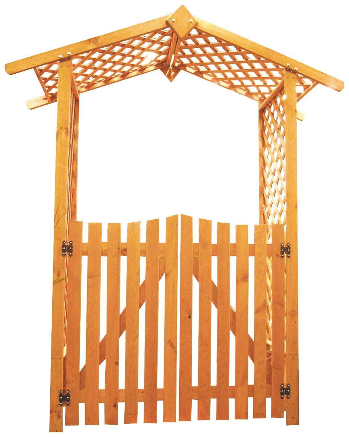 PROMADINO Holzrosenbogen , Set mit Türen, BxTxH: 167x53x219 cm