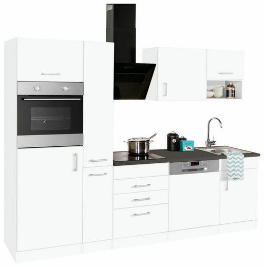 Küchenzeile »Haiti«, mit E-Geräten, Breite 260 cm