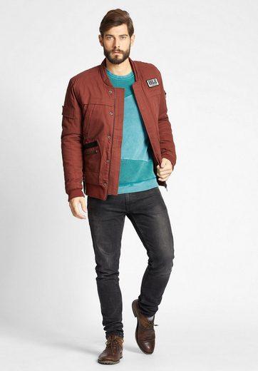 Khujo Winter Jacket Paul, With Zipper And Push Button Strip