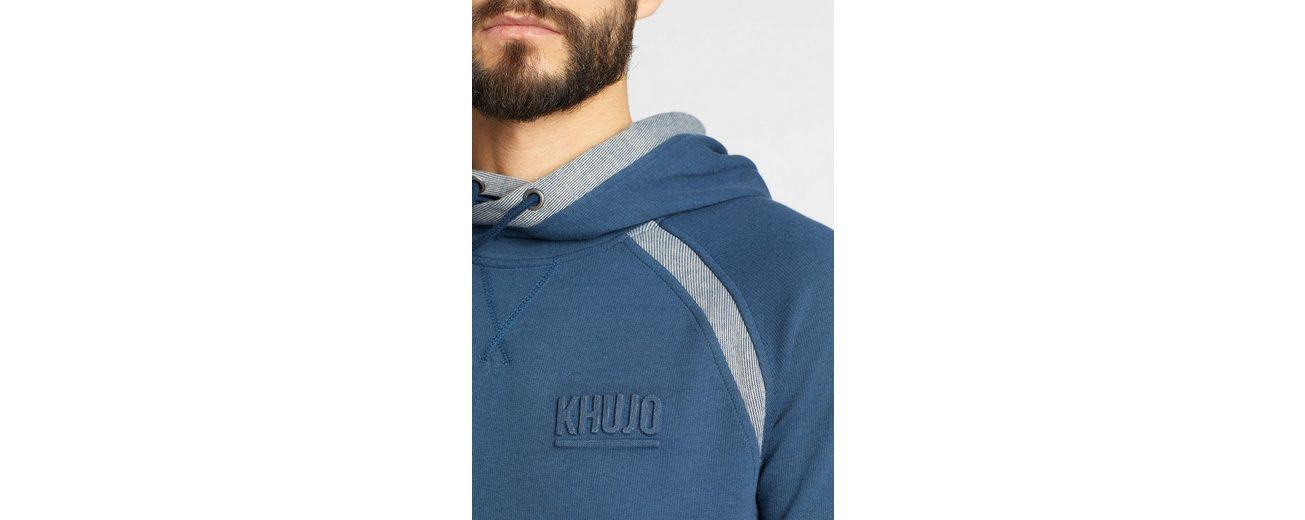 khujo Kapuzensweatshirt VALENTIN, mit Kängurutasche