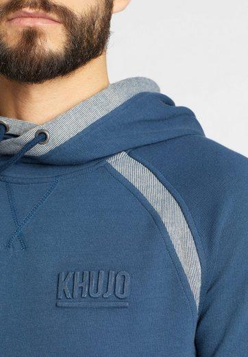 Khujo Sweatshirt Valentine, With Kangaroo Pocket