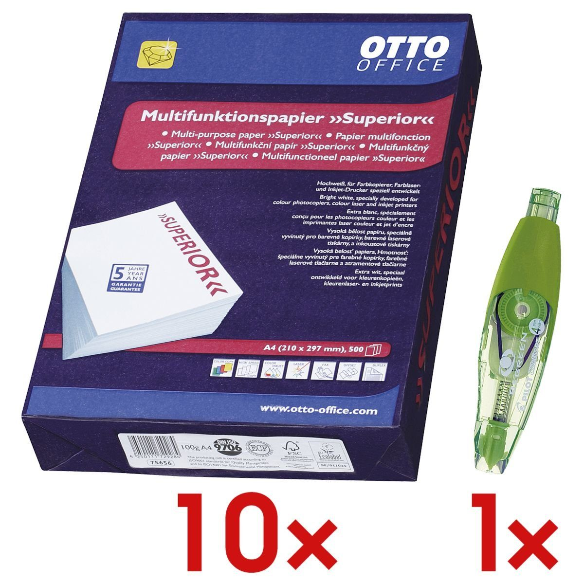 OTTOOFFICE PREMIUM 10 Pack Mult... »Superior« 1 Set