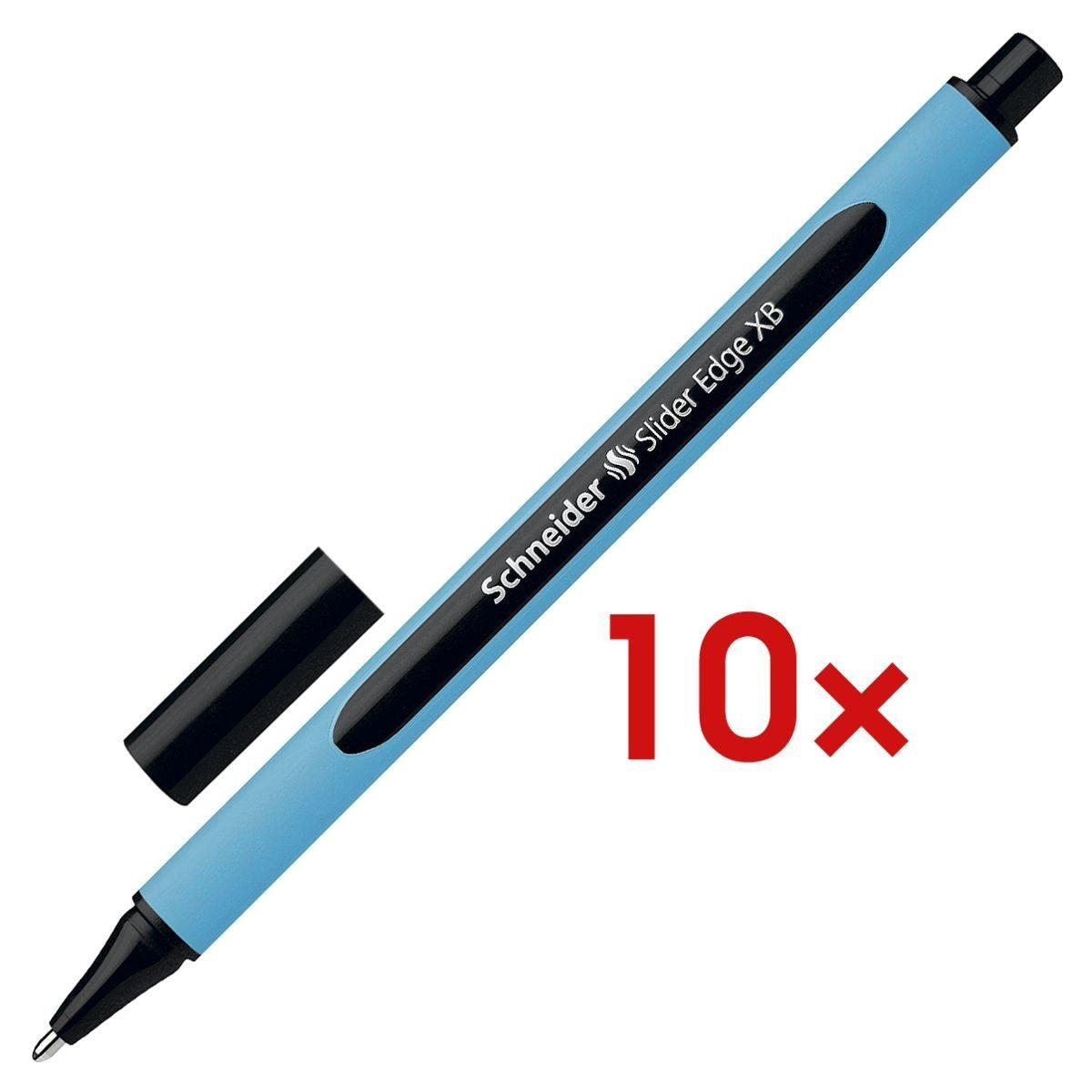 SCHNEIDER 10x Kugelschreiber 1522 »Slider Edge XB« 1 Set