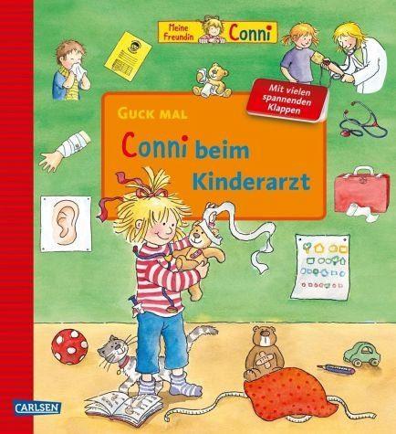Buch mit Papp-Einband »Guck mal: Conni beim Kinderarzt«