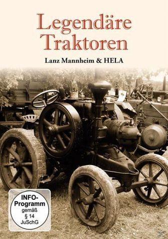 DVD »Legendäre Traktoren - Lanz Mannheim & HELA«