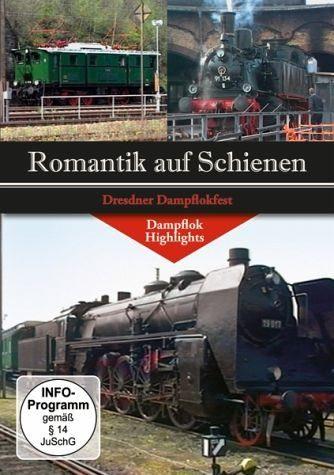 DVD »Romantik auf Schienen - Dresdner Dampflokfest«