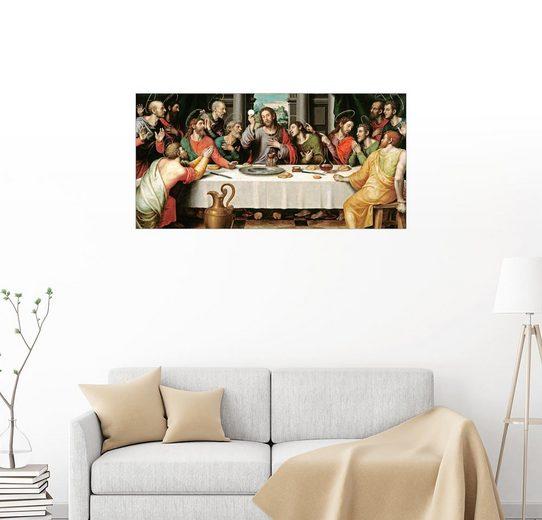 Posterlounge Wandbild - Vicente Juan Macip »Das letzte Abendmahl«