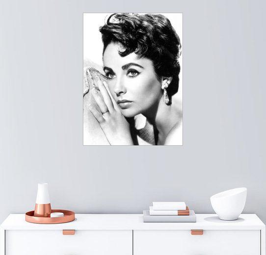 Posterlounge Wandbild »Liz Taylor«