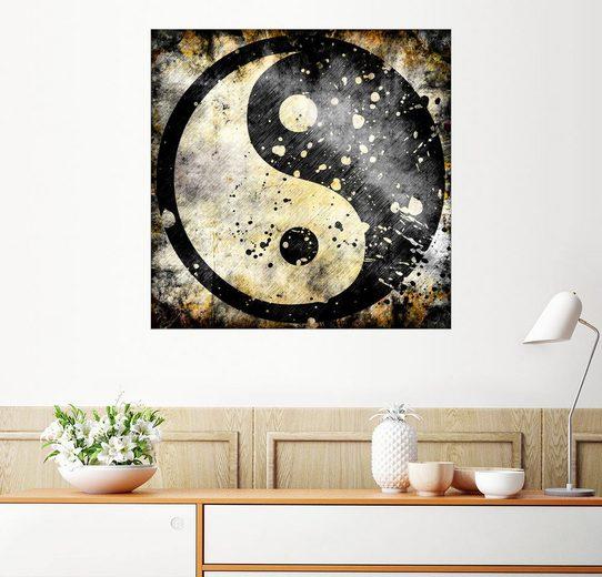 Posterlounge Wandbild »Ying Yang«