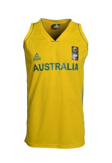 PEAK Basketballtrikot »Single Jersey Australia« im lässigen Schnitt