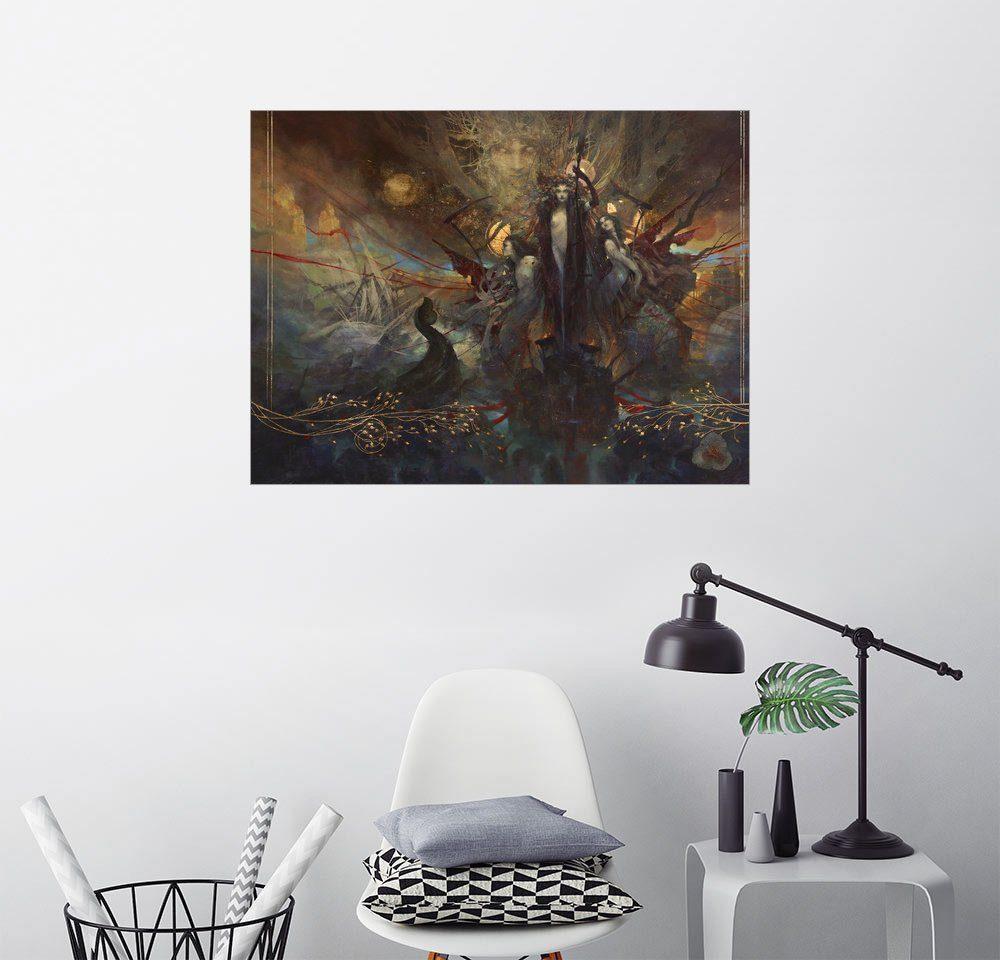 Posterlounge Wandbild - Yoann Lossel »Les Fleurs du Mal«