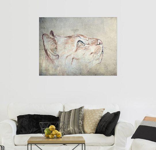 Posterlounge Wandbild - Annett Tropschug »Cats Moments 3«