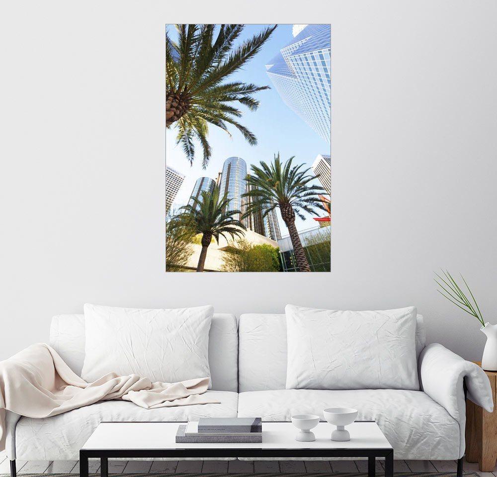 Posterlounge Wandbild - Gavin Hellier »Palmen in Los Angeles«