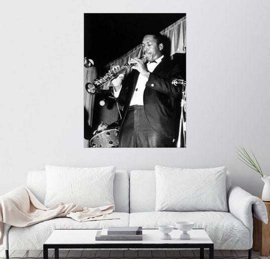 Posterlounge Wandbild »John Coltrane«