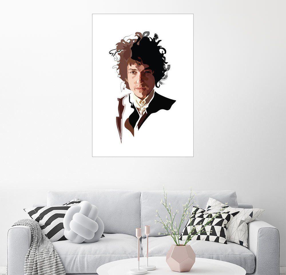 Posterlounge Wandbild - Anna McKay »Bob Dylan«