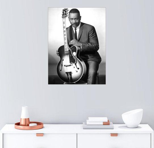 Posterlounge Wandbild »Wes Montgomery«