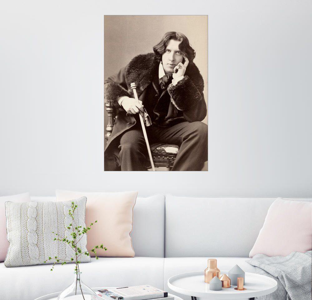 Posterlounge Wandbild - Napoleon Sarony »Oscar Wilde«