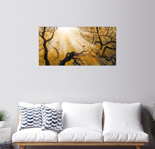 Posterlounge Wandbild - Georg Huber »Magic Forest«