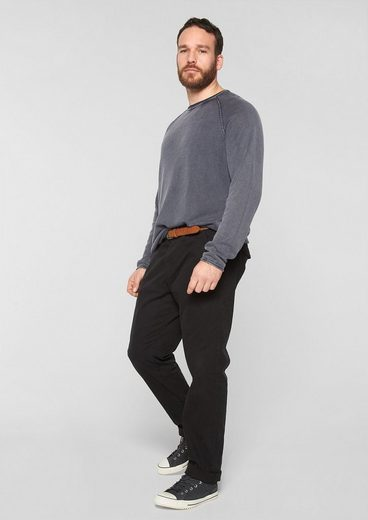 s.Oliver RED LABEL Strukturstrick-Pullover in Garment Dye