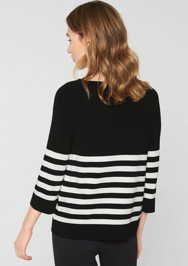 Stripes S.oliver Black Label With Smooth Sweater