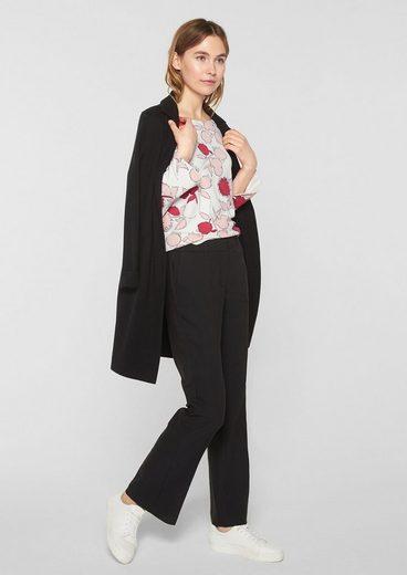 s.Oliver BLACK LABEL Shirt aus Interlock-Jersey