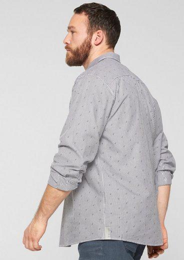 s.Oliver RED LABEL Regular: Oxfordhemd mit Print