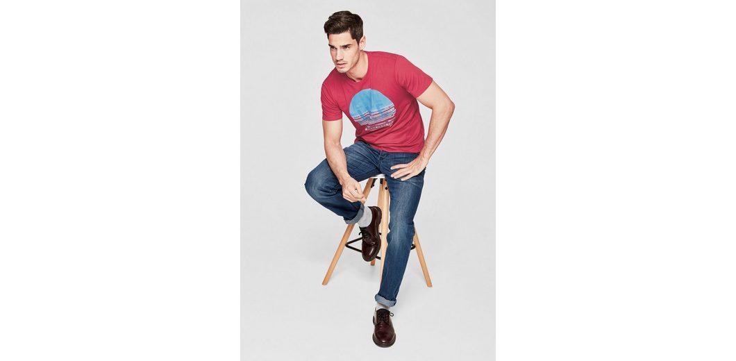 s.Oliver RED LABEL Jerseyshirt mit Fotoprint Am Besten Zu Verkaufen RjCkjEN