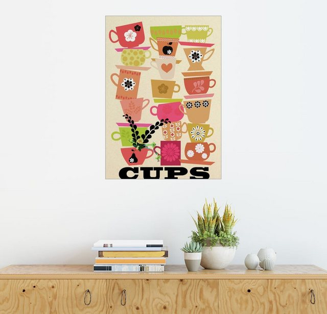 Posterlounge Wandbild - Elisandra Sevenstar »cups 01« | Dekoration > Bilder und Rahmen > Bilder | Posterlounge