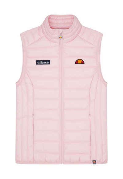 Ellesse Steppjacke »Ellesse Weste Damen BARIA GILET Rosa Light Pink«