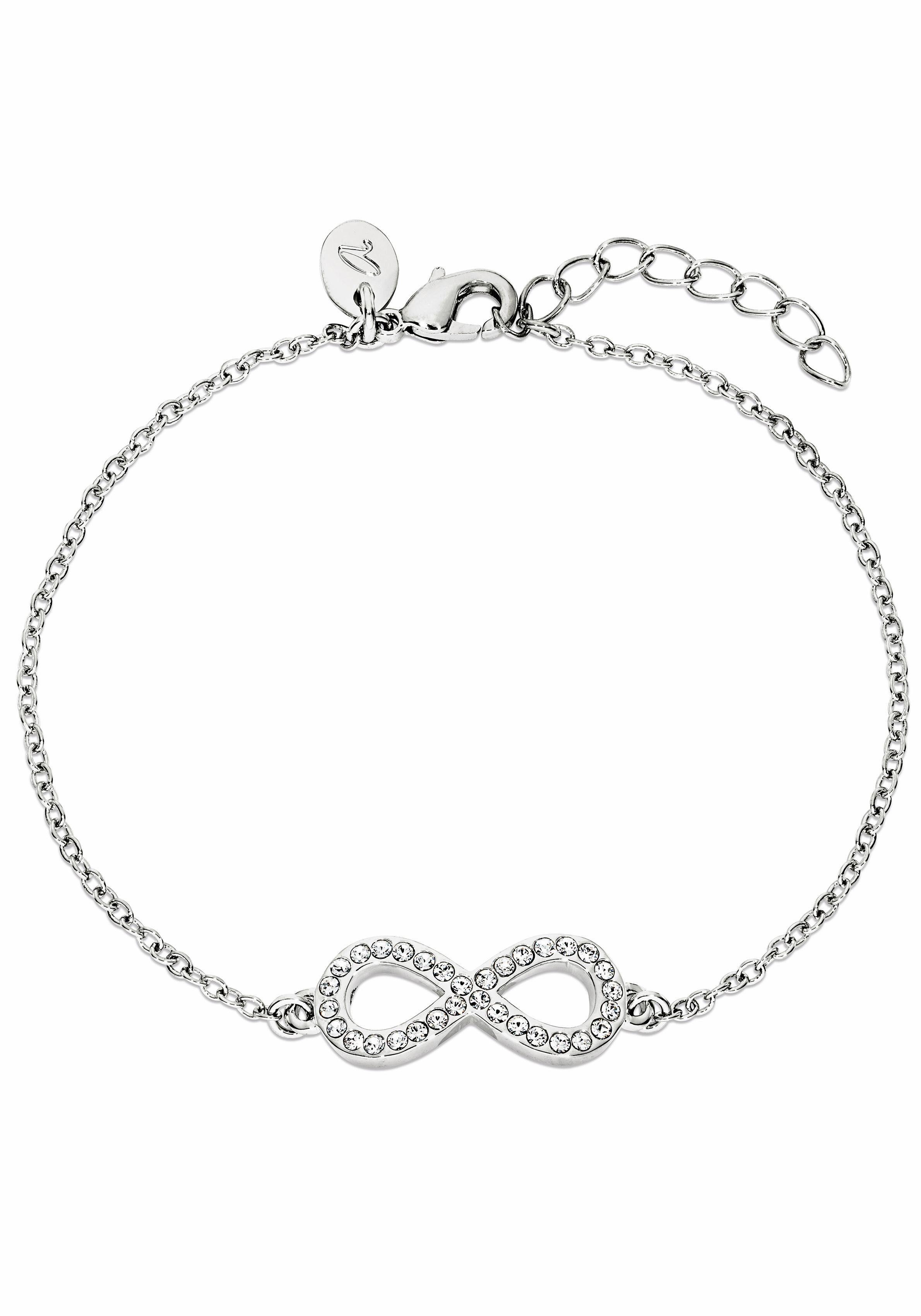 Noelani Armband »2018757, Infinity, Unendlichkeit« mit Swarovski® Kristallen