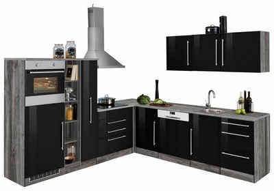 Kuchenzeile In Schwarz Online Kaufen Otto