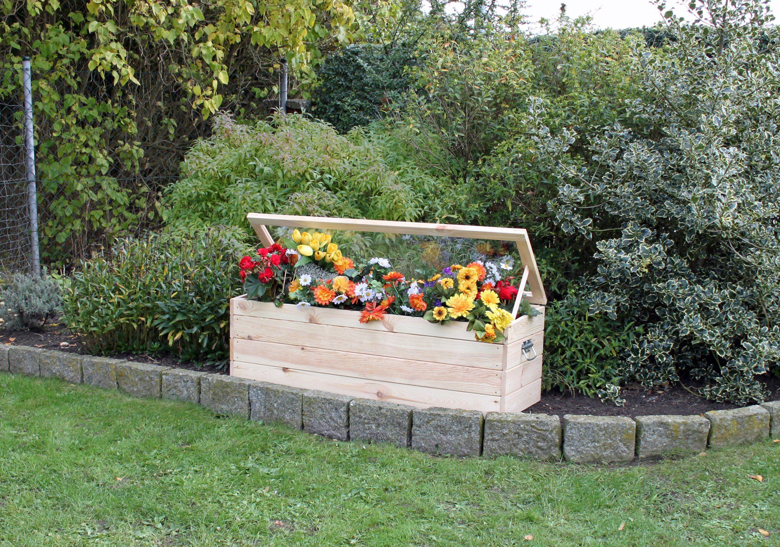 Frühbeet , mit Boden und Folie, BxTxH: 118,5x40x42 cm